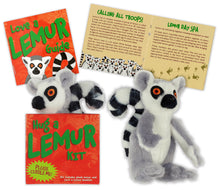 Load image into Gallery viewer, Hug a Lemur Kit (Book + Plush)