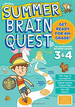 Load image into Gallery viewer, Summer Brain Quest: Between Grades 3 & 4