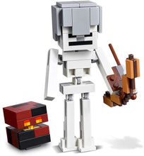 Load image into Gallery viewer, LEGO® Minecraft 21150 Skeleton BigFig with Magma Cube (142 pieces)