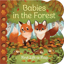 Load image into Gallery viewer, Babies In The Forest: Lift-a-Flap Board Book