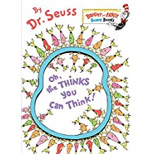 Oh the Thinks You Can Think (Large Board Book)