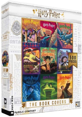 Harry Potter Book Covers Collage (500 pieces)