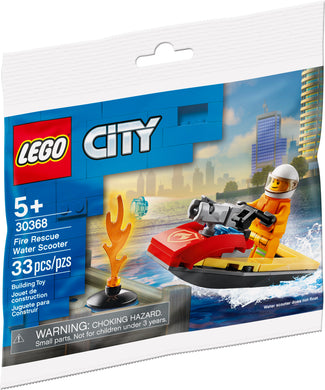 LEGO® CITY 30368 Fire Rescue Water Scooter (33 pieces)