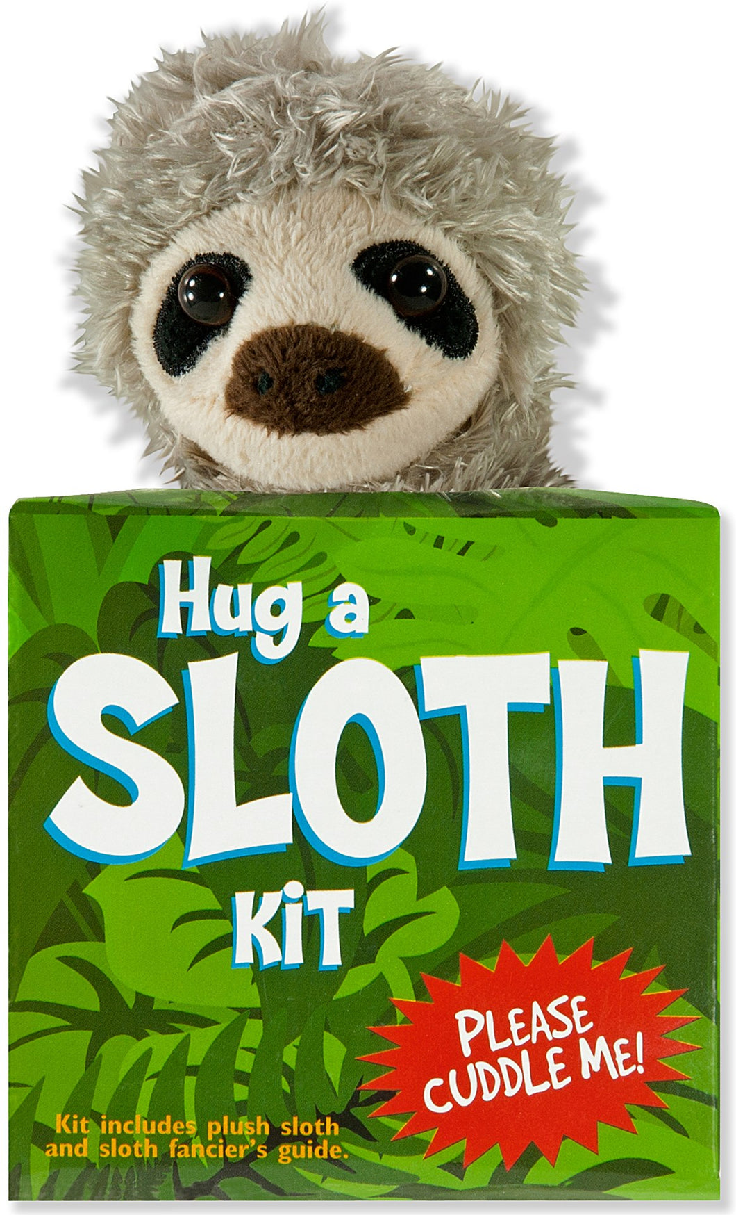 Hug a Sloth Kit (Book + Plush)