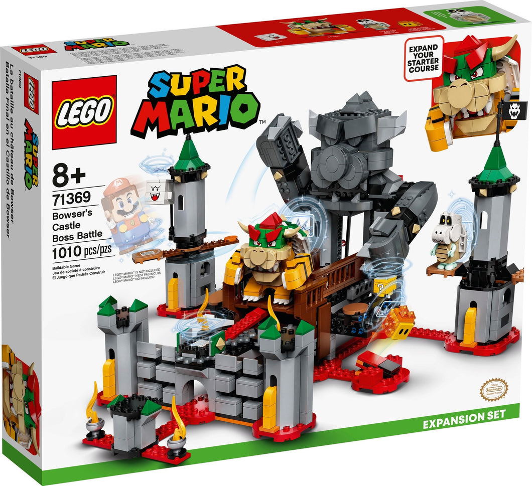 LEGO® Super Mario 71369 Bowser's Castle Boss Battle (1010 pieces) Expansion Set