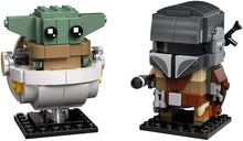 Load image into Gallery viewer, LEGO® BrickHeadz 75317 Star Wars™ The Mandalorian & The Child (295 pieces)