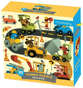 Construction Site Jumbo Puzzle