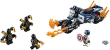 Load image into Gallery viewer, LEGO® Marvel Avengers 76123 Captain America: Outriders Attack (167 pieces)