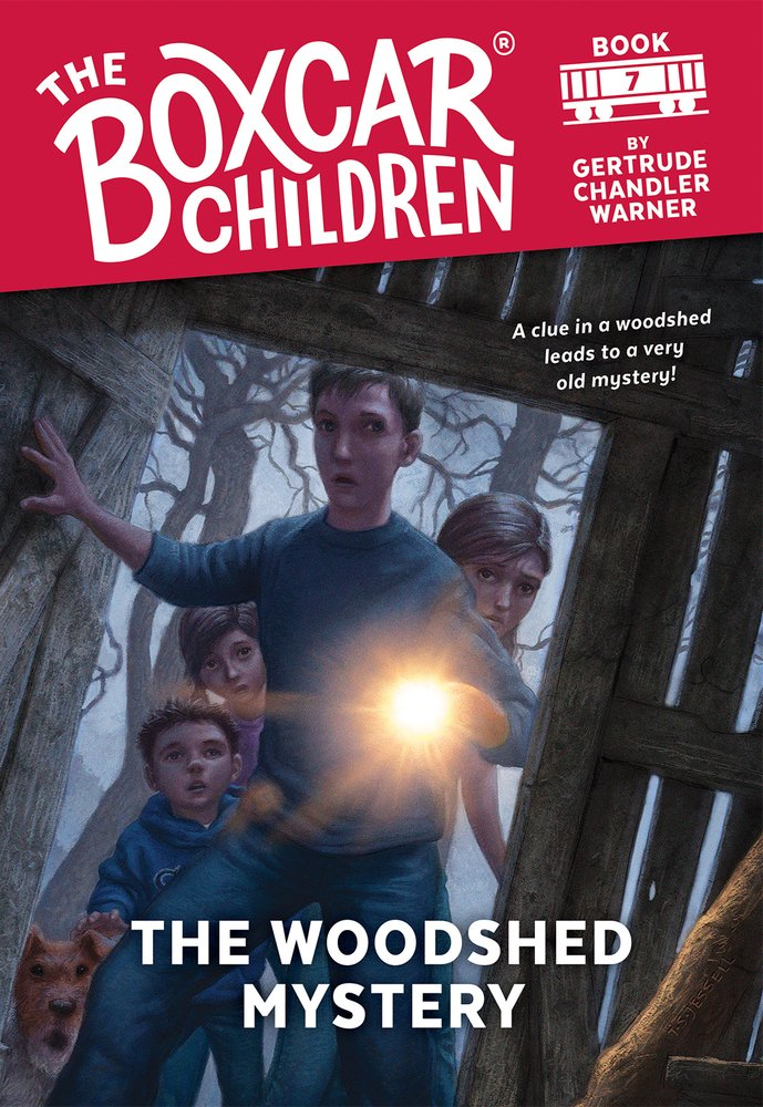 The Woodshed Mystery (The Boxcar Children Mysteries #7)
