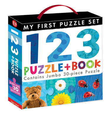 123 Puzzle and Book (My First)