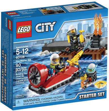 LEGO® CITY 60106 Fire Starter Set (90 pieces)
