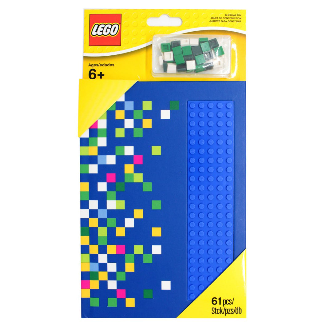 LEGO® Blue Notebook with Studs