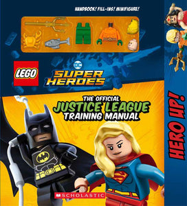 LEGO® DC Super Heroes: Justice League Training Manual (Activity Book with Minifigure)