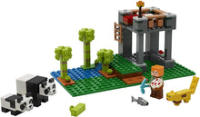 Load image into Gallery viewer, LEGO® Minecraft 21158 The Panda Nursery (204 pieces)