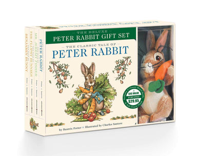 The Peter Rabbit Deluxe Plush Gift Set