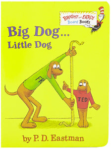 Big Dog . . . Little Dog (Board Book)