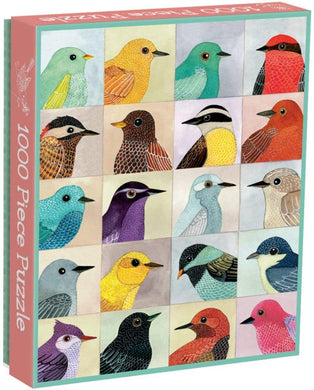 Avian Friends Puzzle (1000 pieces)
