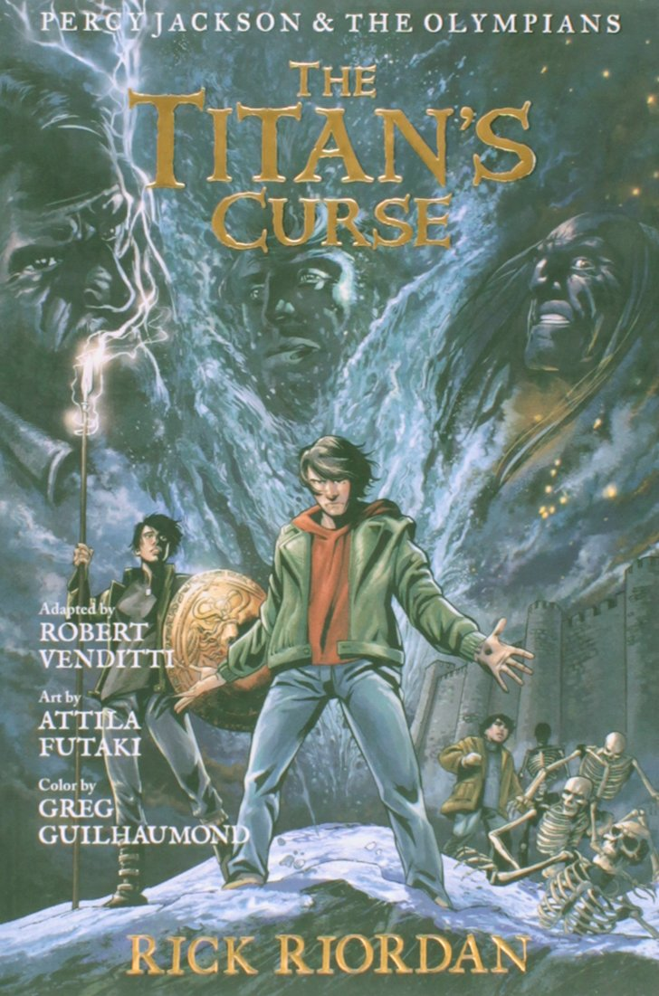 The Battle of the Labyrith: The Graphic Novel (Percy Jackson & the Olympians, Book 4)