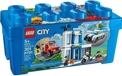 LEGO® CITY 60270 Police Brick Box (301 pieces)