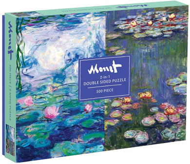 Monet 2-sided Puzzle (500 pieces)