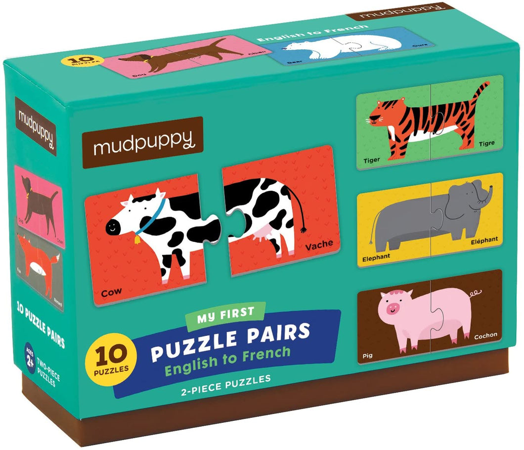 French/English My First Puzzle Pairs