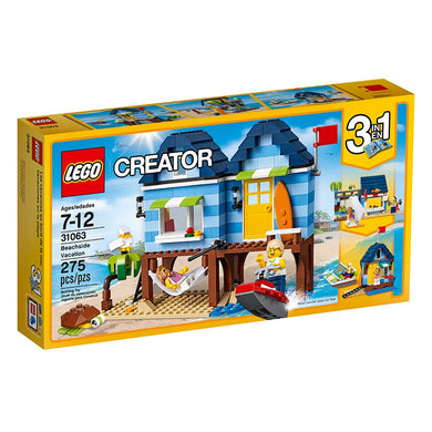 LEGO® Creator 31063 Beachside Vacation (275 pieces)