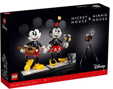 LEGO® Disney™ 43179 Mickey Mouse & Minnie Mouse (1,739 pieces)