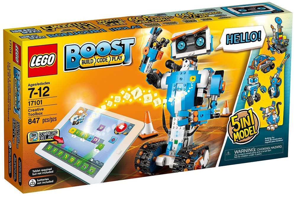 LEGO® BOOST 17101 Creative Toolbox (847 pieces)