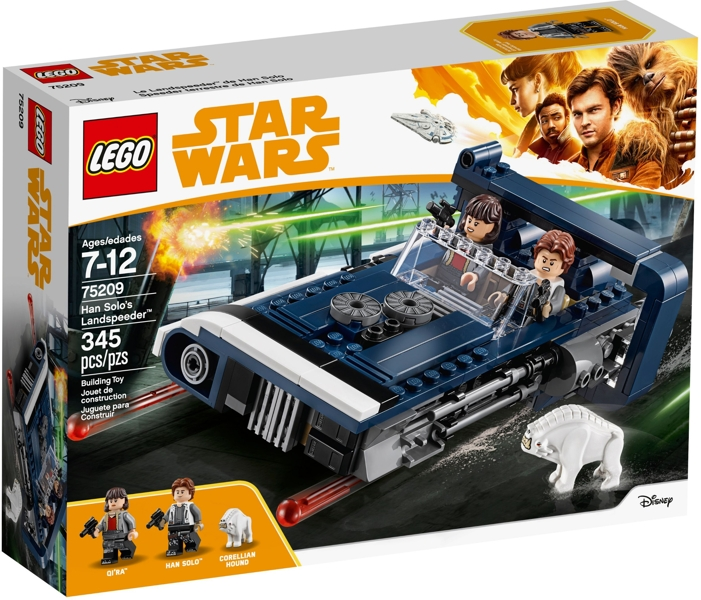 LEGO® Star Wars™ 75209 Han Solo's Landspeeder (345 pieces)