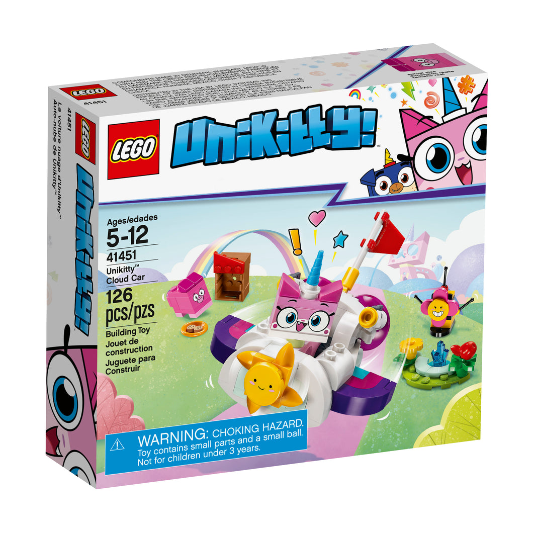 LEGO® Unikitty! 41451 Unikitty Cloud Car (126 pieces)