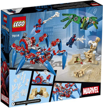 Load image into Gallery viewer, LEGO® Marvel Spiderman 76114 Spider-Man's Spider Crawler (418 pieces)