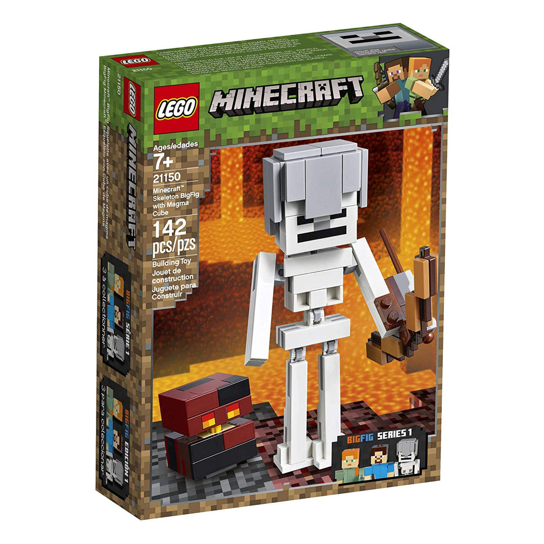 LEGO® Minecraft 21150 Skeleton BigFig with Magma Cube (142 pieces)