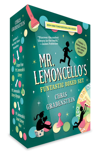 Mr. Lemoncello's Futuristic Box Set (Books 1-3)