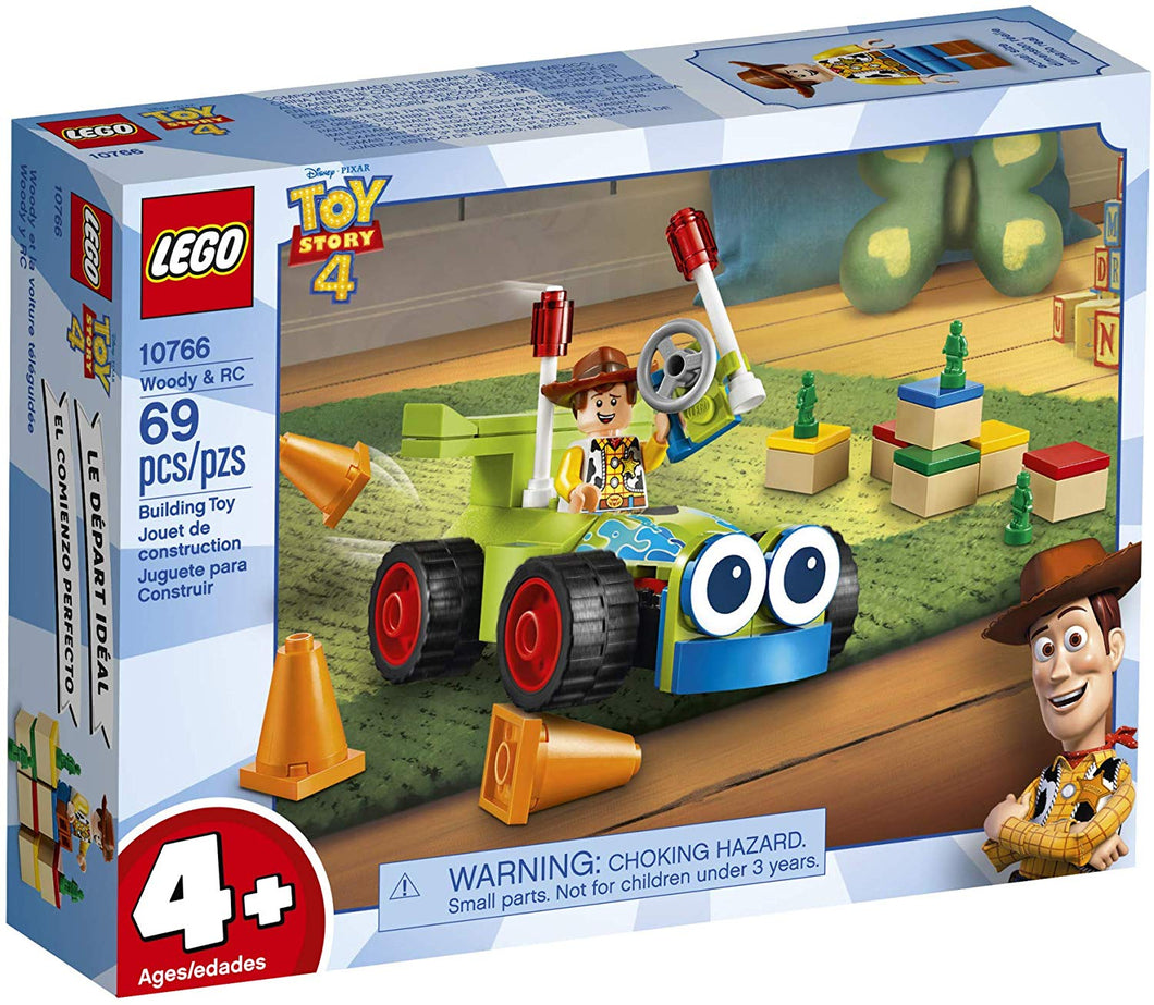 LEGO® Disney™ 10766 Toy Story 4 Woody & RC (69 pieces)