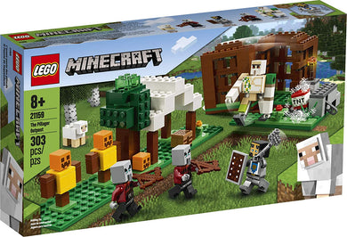 LEGO® Minecraft 21159 The Pillager Outpost (303 pieces)