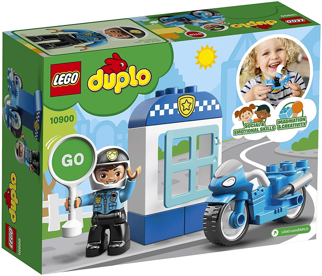 LEGO® DUPLO® 10900 Town Police Bike (8 pieces)
