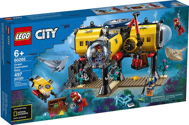 LEGO® CITY 60265 Ocean Exploration Base (497 pieces)