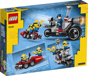 LEGO® Minions 75549 Unstoppable Bike Chase (136 pieces)