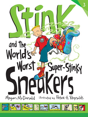 Stink and the World's Worst Super-Stinky Sneakers  (Book 3)