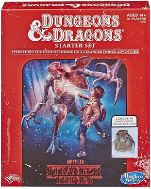 Stranger Things Dungeons & Dragons Starter Set
