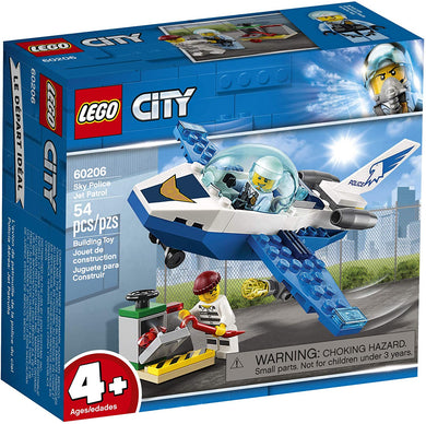 LEGO® CITY 60206 Sky Police Jet Patrol (54 pieces)