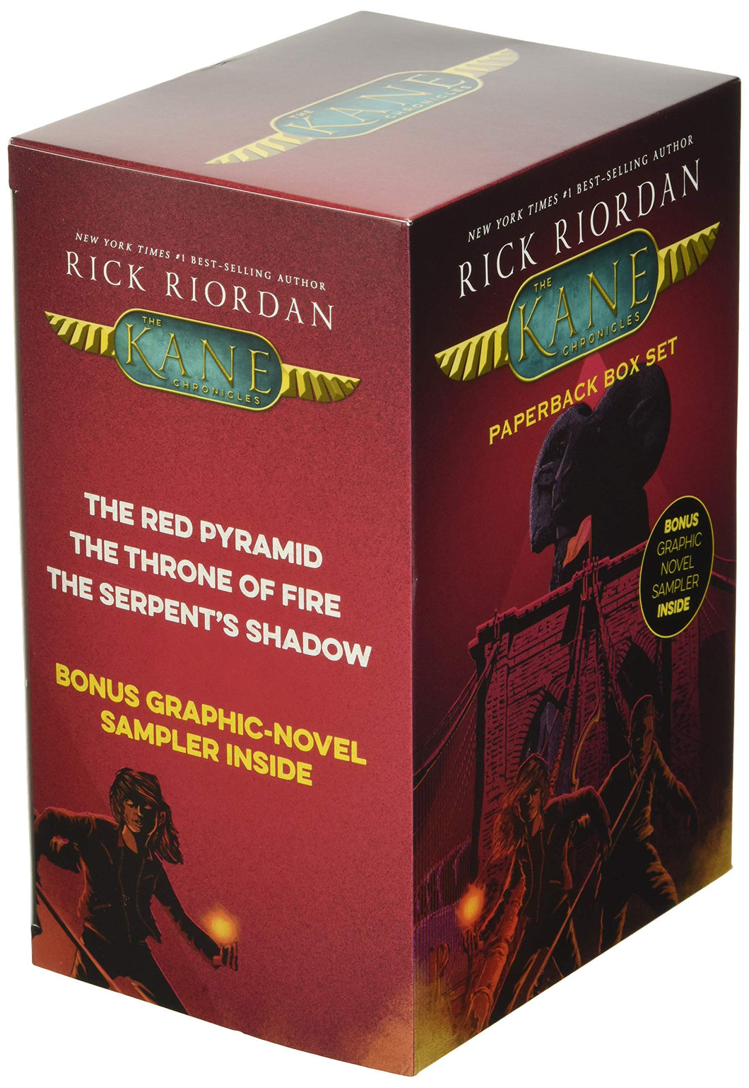 The Kane Chronicles 3 Book Boxed Set