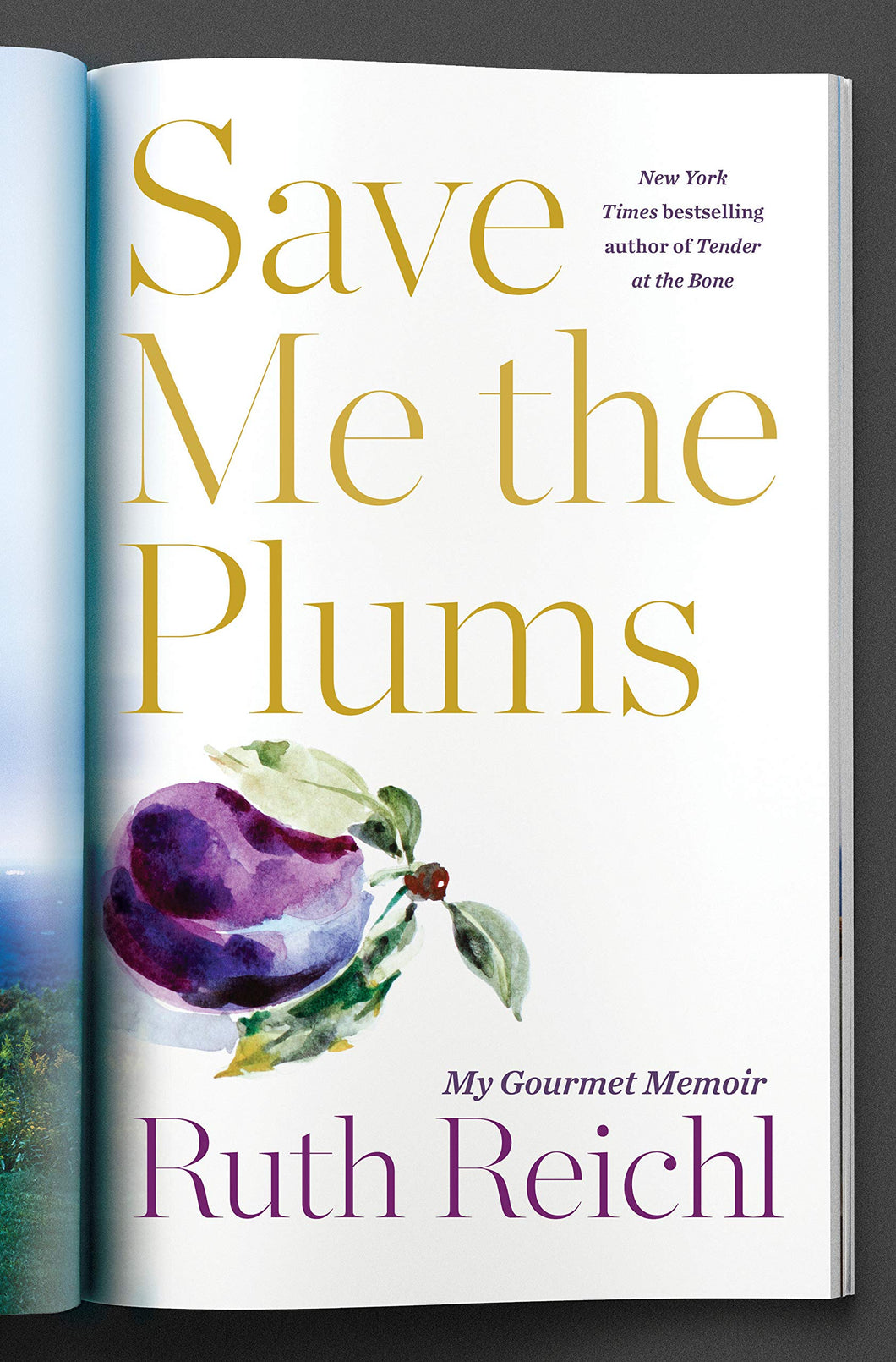 Save Me the Plums: My Gourmet Memoir