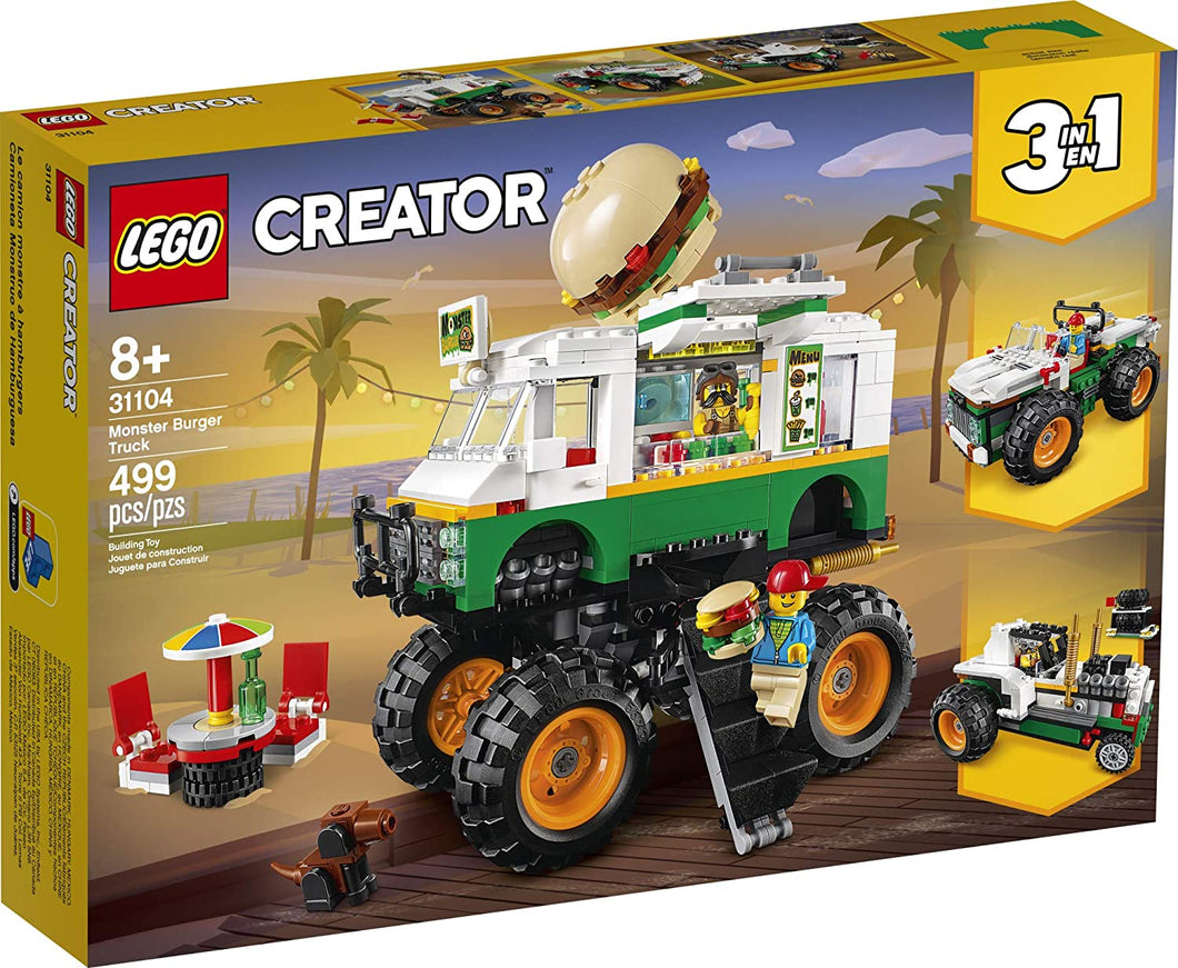 LEGO® Creator 31104 Monster Burger Truck (499 pieces)