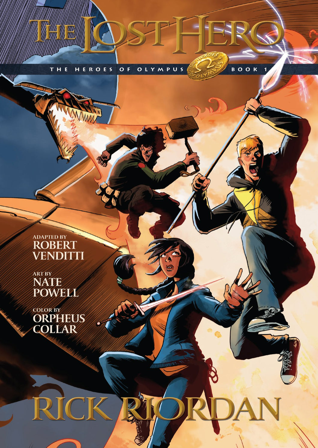The Lost Hero: The Graphic Novel (The Heroes of Olympus)
