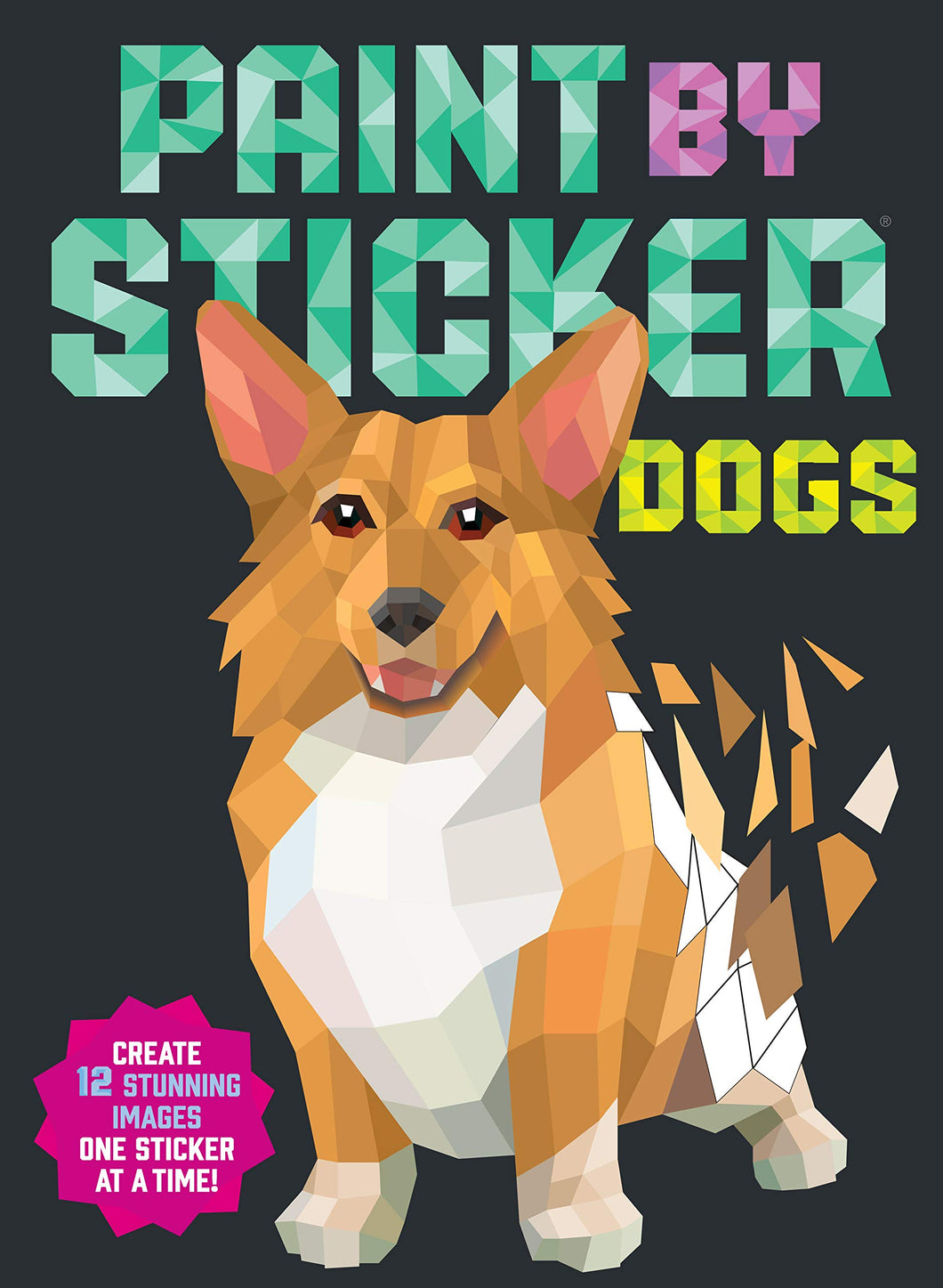 Paint by Sticker: Dogs