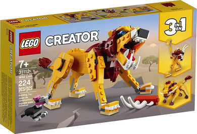 LEGO® Creator 31112 Wild Lion (224 pieces)