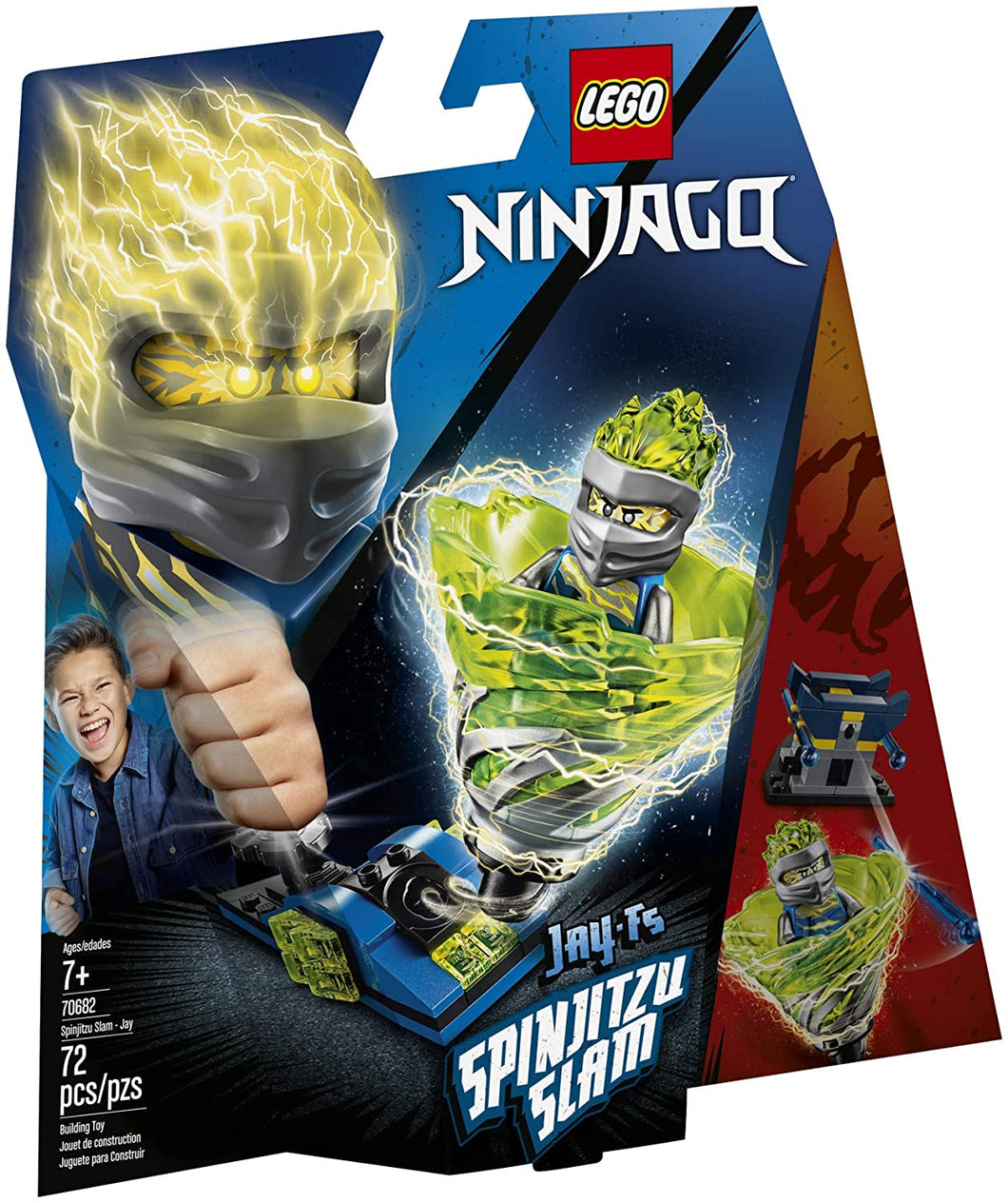 LEGO® Ninjago 70682 Spinjitzu Slam: Jay (72 pieces)