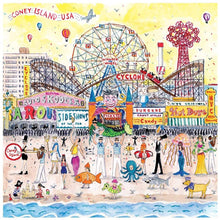 Load image into Gallery viewer, Summer at The Amusement Park Puzzle (500 pieces)
