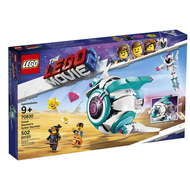 LEGO® 70830 The LEGO Movie 2 Sweet Mayhem's Systar Starship! (500 pieces)